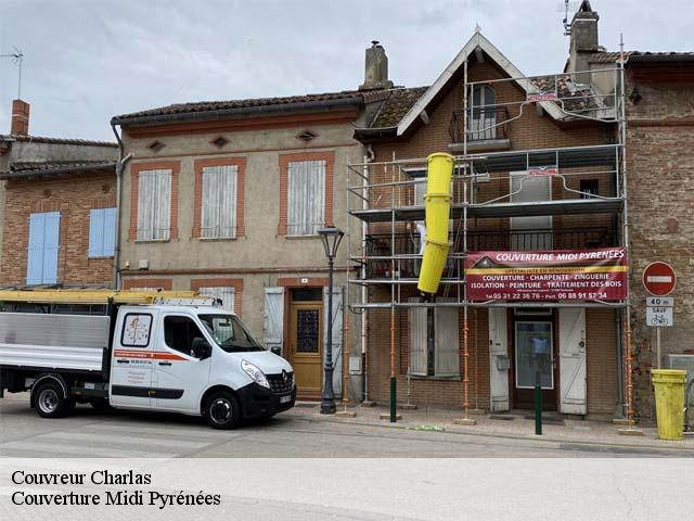Couvreur  charlas-31350