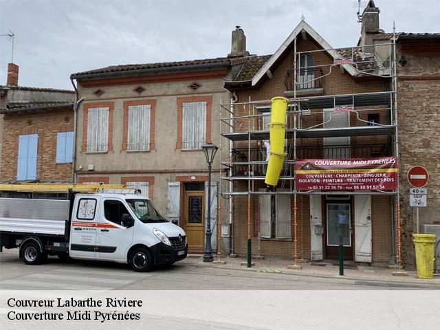 Couvreur  labarthe-riviere-31800