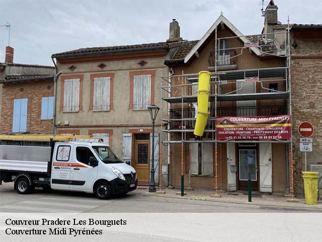 Couvreur  pradere-les-bourguets-31530